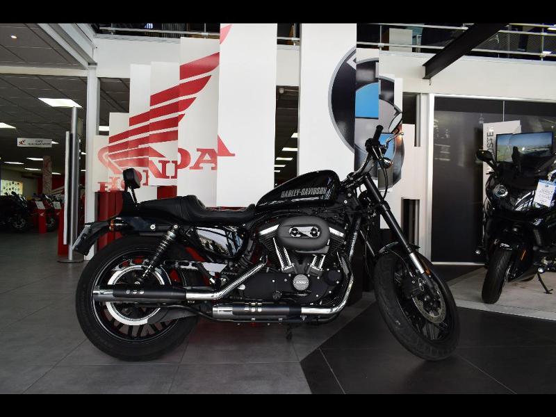 moto Sportster 1200 CX Roadster Noir ABS 2017