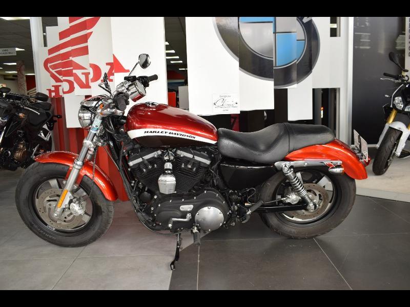 moto Sportster 1200 CA Custom Bicolore 2013